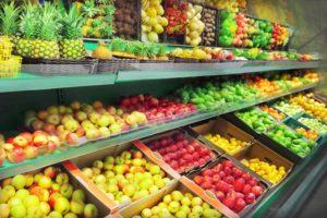 Obst und Gemüse Händler